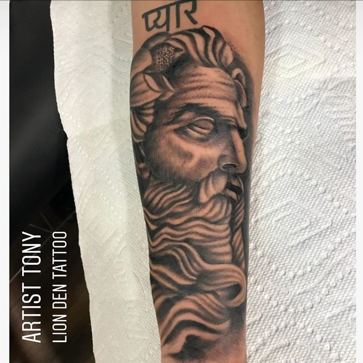 Olio tattoo by toniitattoos from the lion 39 s den tattoo for Inkfatuation tattoo shop bakersfield