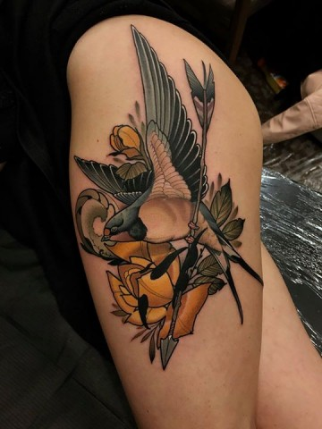 Grateful Tattoo By Daniel from  Allegory Arts - 02-20-2018