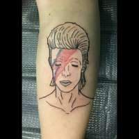 Bowie  Tattoo by Riley from  Full Custom Tattoo Jacksonville, FL - 20170626