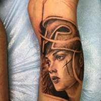 Athena  Tattoo by Tommy from  Full Custom Tattoo Jacksonville, FL - 20171222
