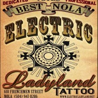 Electric Ladyland Tattoo a Tattoo Studio in New Orleans, LA
